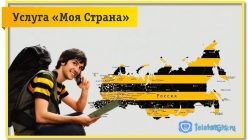 Подключите услугу «Моя Страна» Билайн и экономьте в роуминге по России.