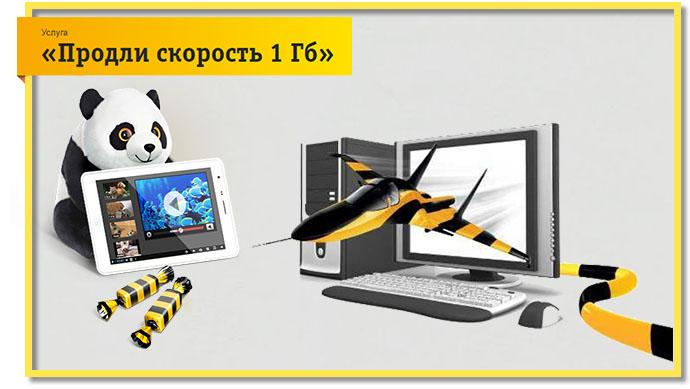 Продлите скорость на 1 Гб всего за 250 рублей.