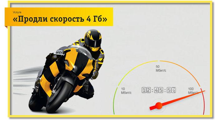 Всего за 500 рублей вы можете продлить трафик на билайне на 4 Гб.