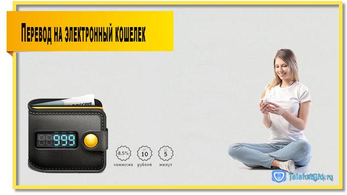 Перевод с билайна на электронный кошелек