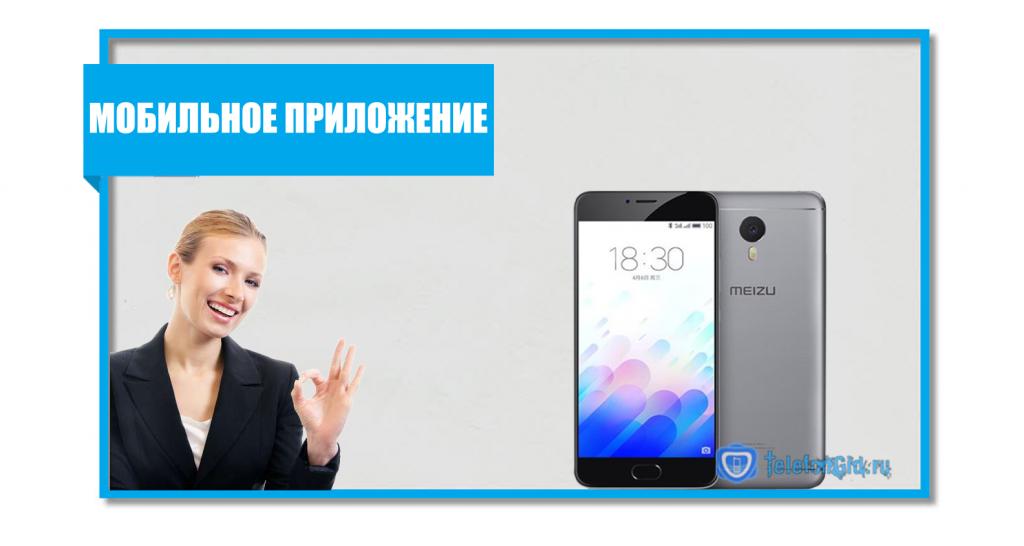 распечатка звонков через мобильное приложение