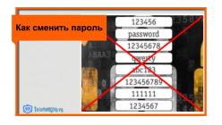 Стандартные настройки маршрутизатора